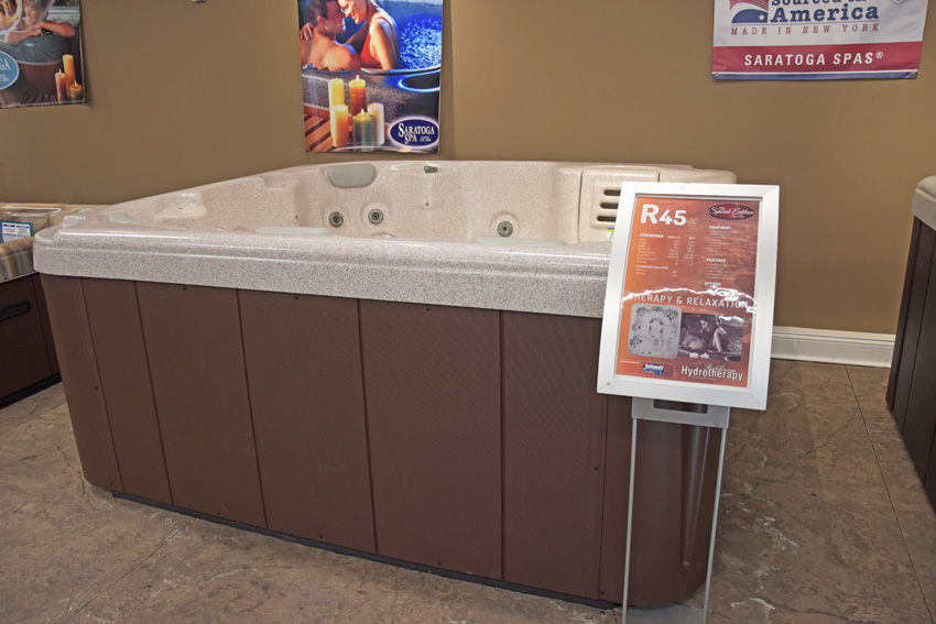 This Is A Photo Of The R45 - Special Edition Line 2 Saratoga Spa