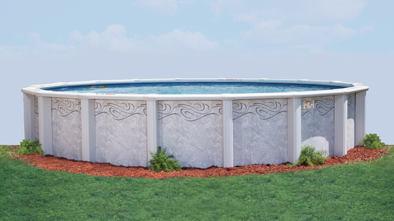 This Is A Photo Of The Saratoga Above Ground Pool
