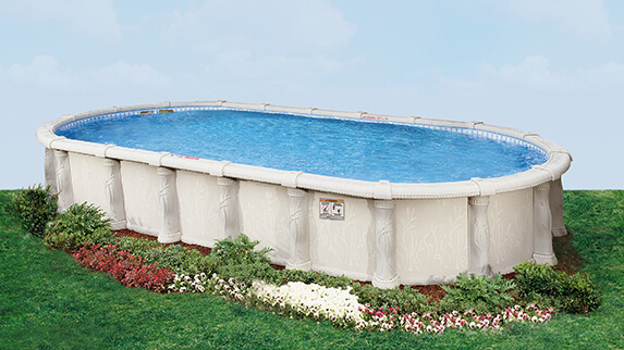 This Is A Photo Of The Tuscany Oval Pool